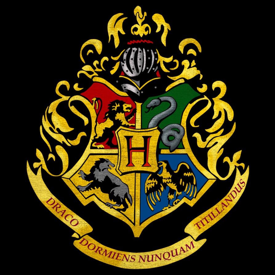Hogwarts logo by on deviantart accio paaarteeee harry potter quiz - Gryffondor blason ...
