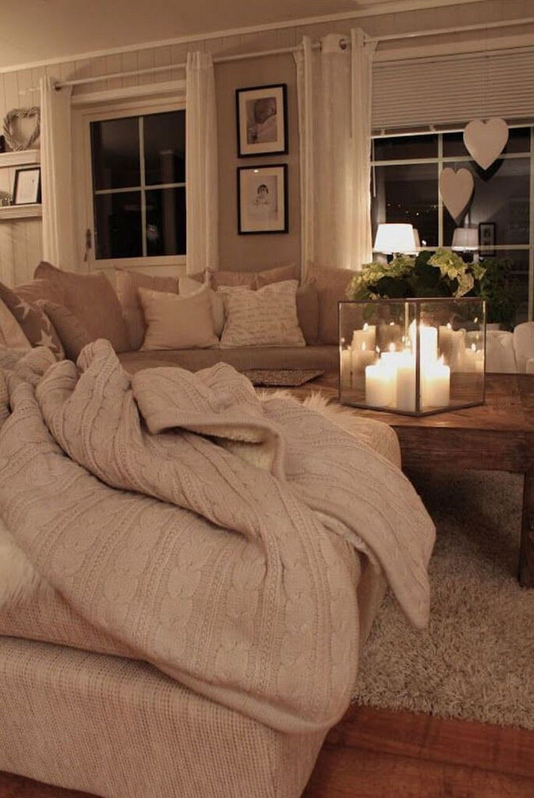 23 Charming Beige Living Room Design Ideas