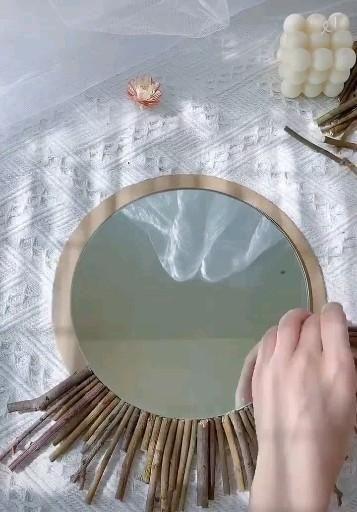 Photo of Beautiful mirror design tricks 🥰