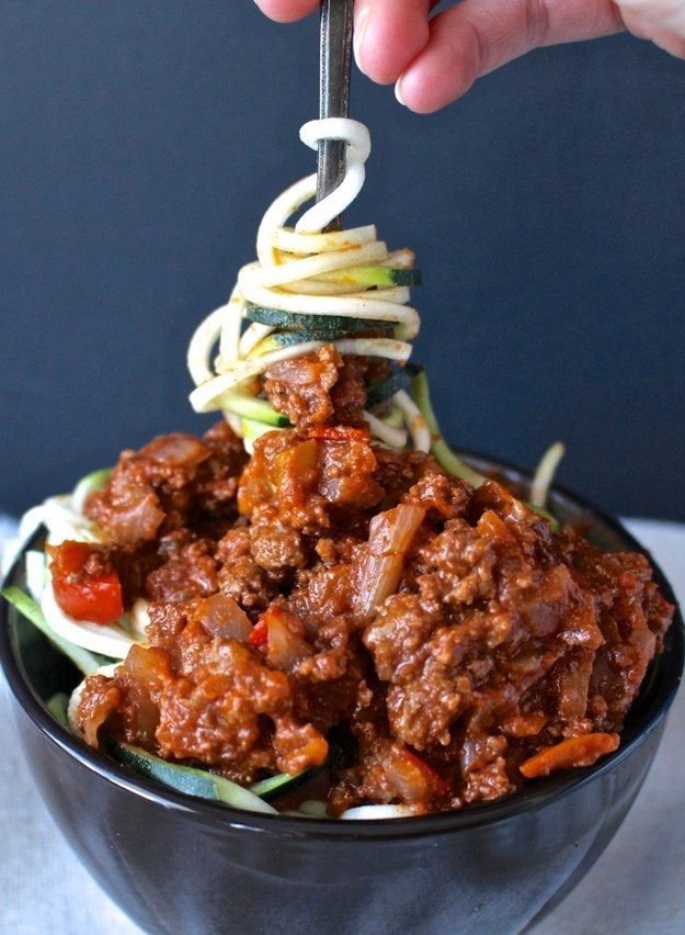 Zucchini Noodle Sloppy Joes   37 Whole30 Recipes That Everyone Will Love
