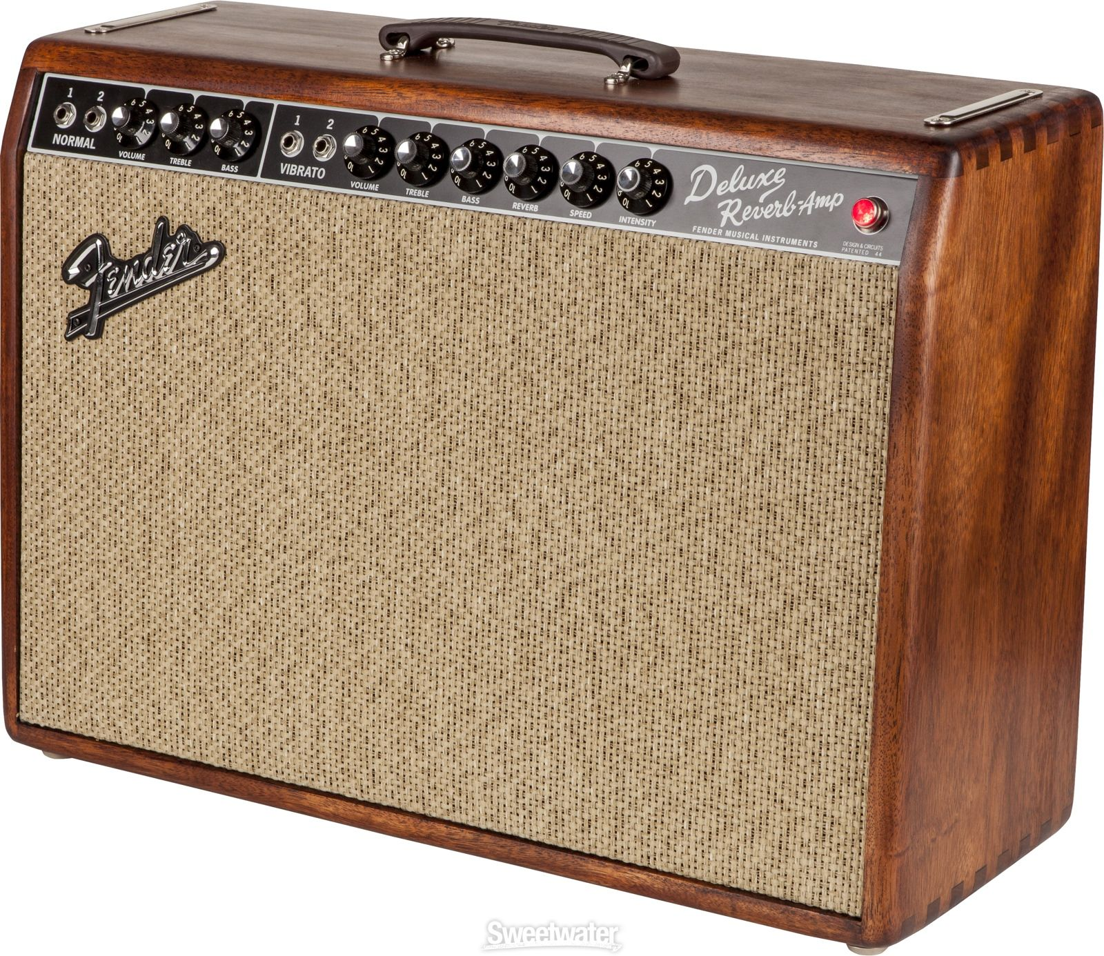 fender 39 65 deluxe reverb fsr mahogany cane stuff i want fender guitar amps fender guitars. Black Bedroom Furniture Sets. Home Design Ideas
