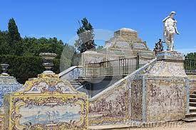 Resultado de imagem para azulejos palacio queluz