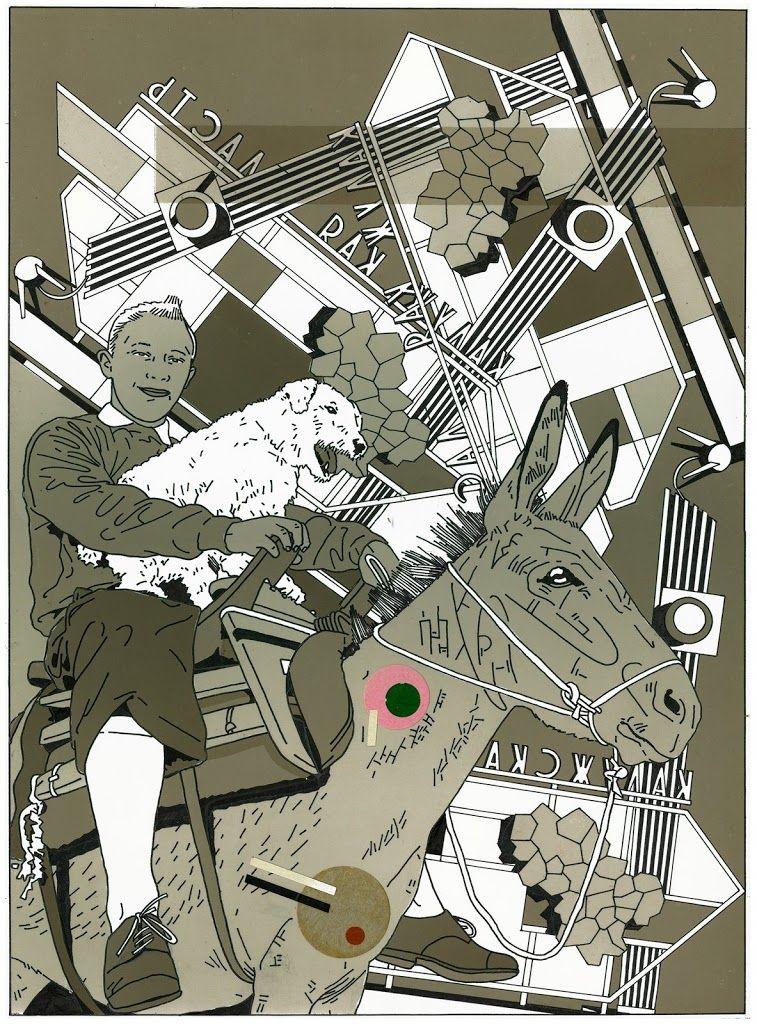 Kiki Picasso, 1976-77 mixmedia artwork