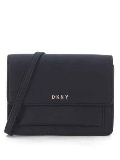 DKNY Borsa A Tracolla Mini Dkny In Pelle Nera. #dkny #bags # #