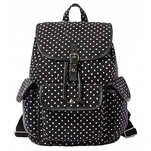 Bag Canvas School College Backpacks   Bookbags Satchel for Girls Students  Women  BagCanvasSchoolCollege 13743fe904599