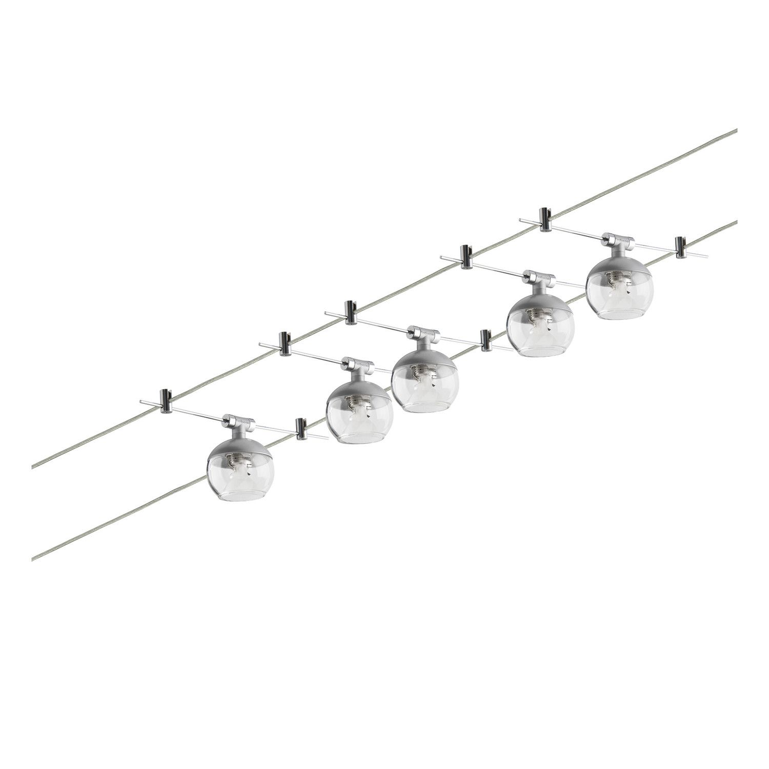 Paulmann Wire 12V Globe 5 Light Wire System | Ds | Pinterest | Globe ...