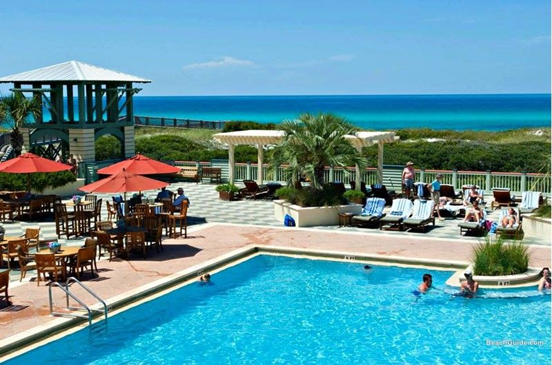 Beachfront Pool At Watercolor Inn And Resort On Santa Rosa Beach Florida