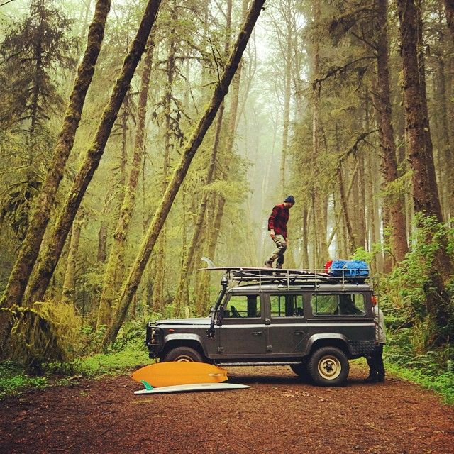 Land Rover Means Going To The Land With No Limit. Surf