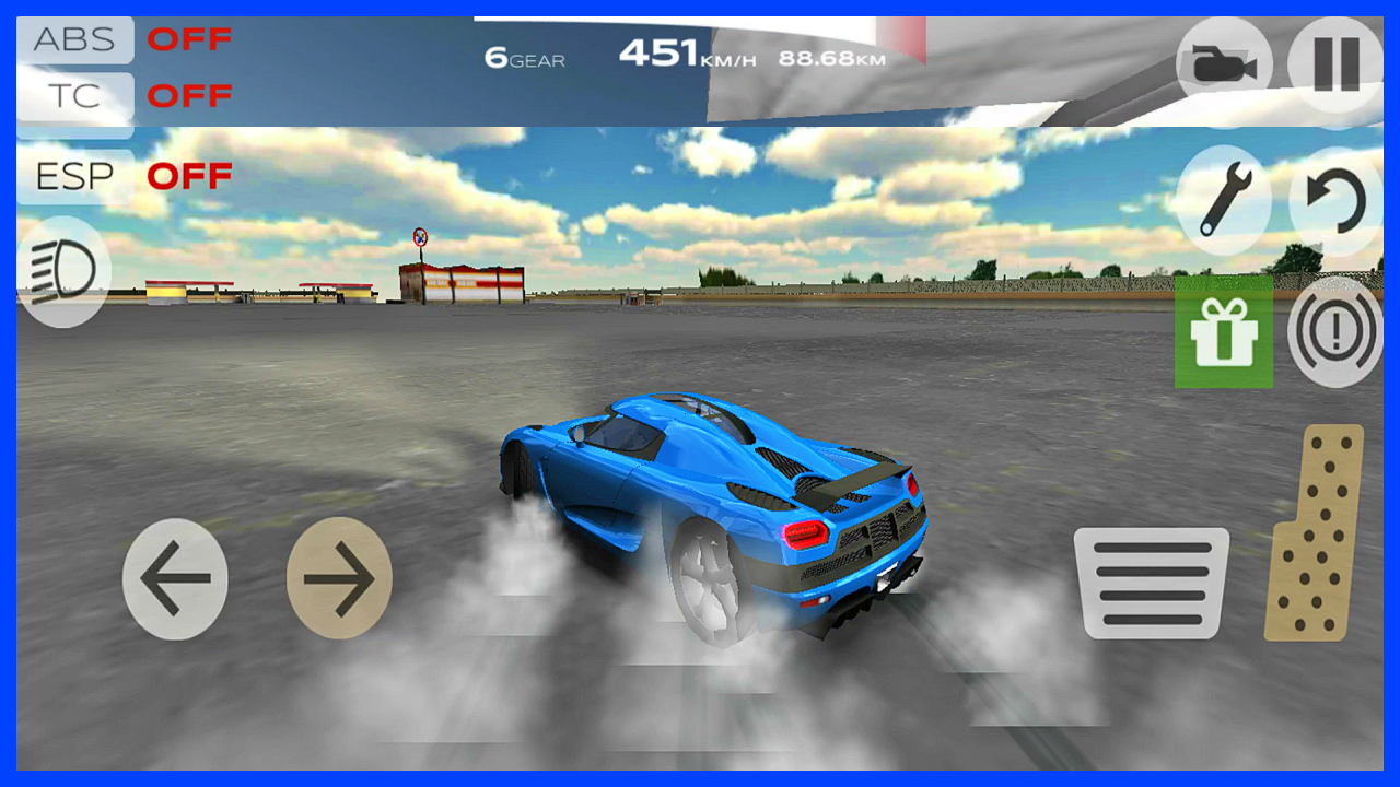 Extreme Car Driving Simulator New World Record Top Speed Gameplay Android Ios Car Racing Driving