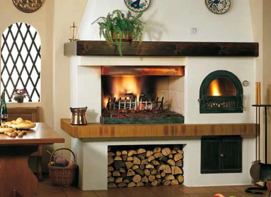 Indoor Brick Oven Google Search Spanish Colonial In