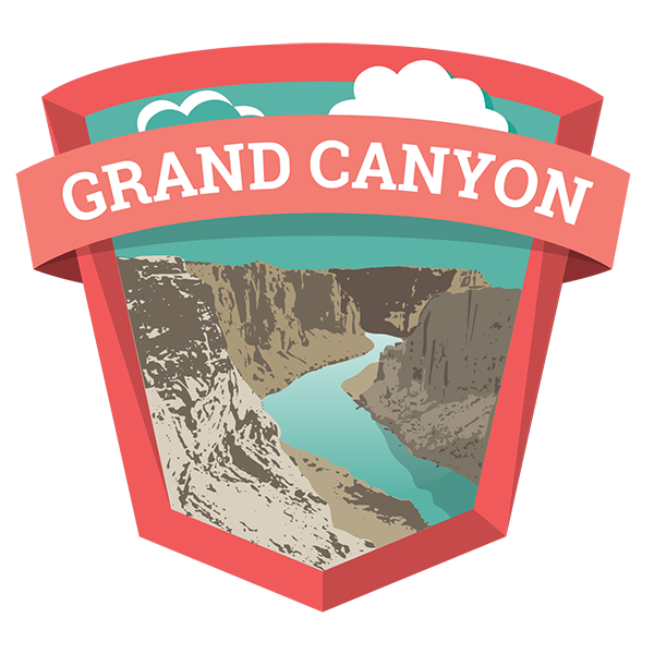 grand canyon national park guide to the south rim grand canyon rh pinterest com Grand Canyon Black and White grand canyon clipart