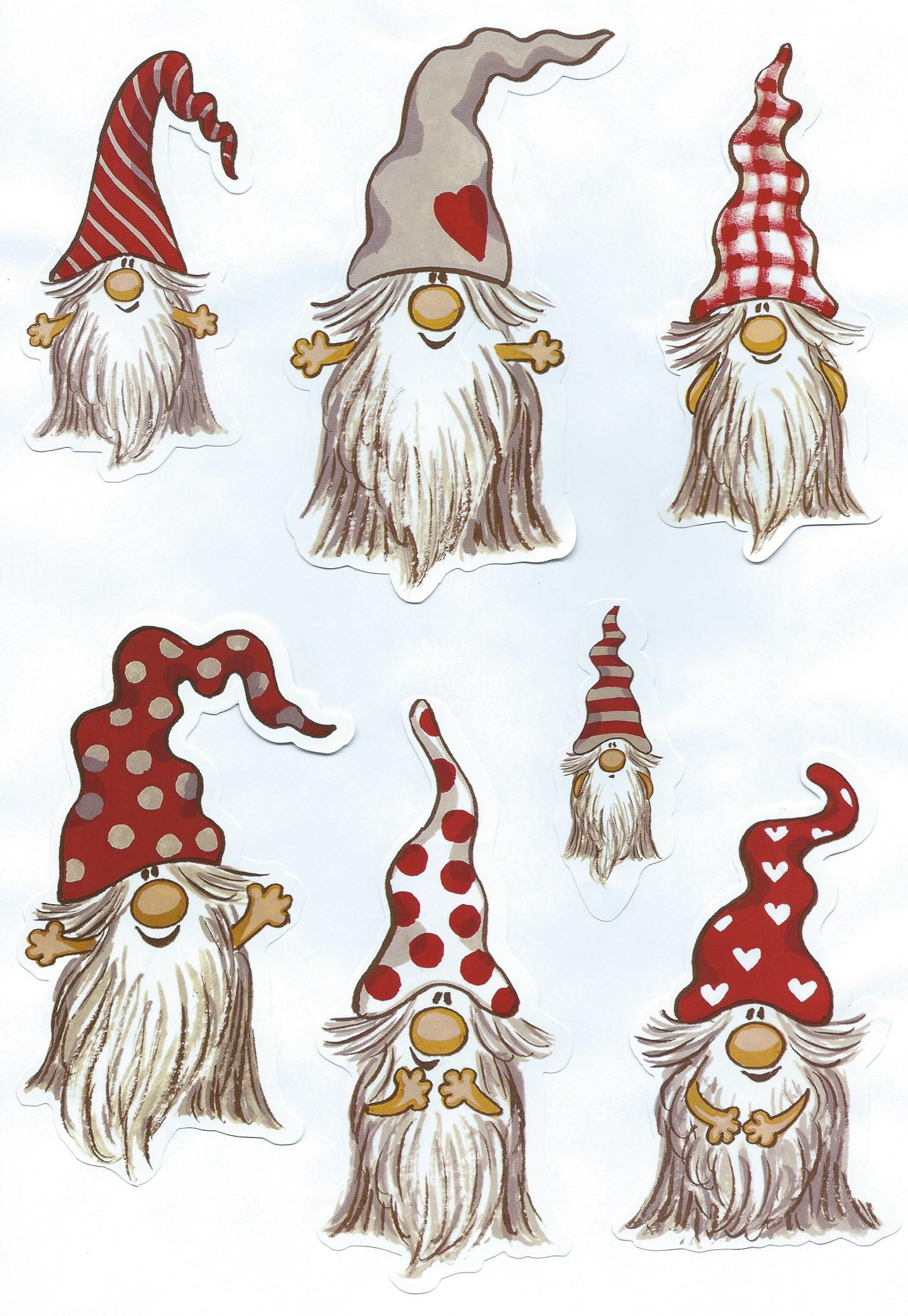 Gnome Clip Art: From My Own Collection