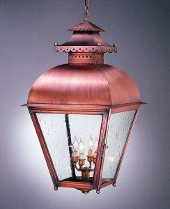 Colonial Williamsburg Lantern- an interior or exterior hanging lantern light made with antique copper. & Colonial Williamsburg Lantern- an interior or exterior hanging ... azcodes.com