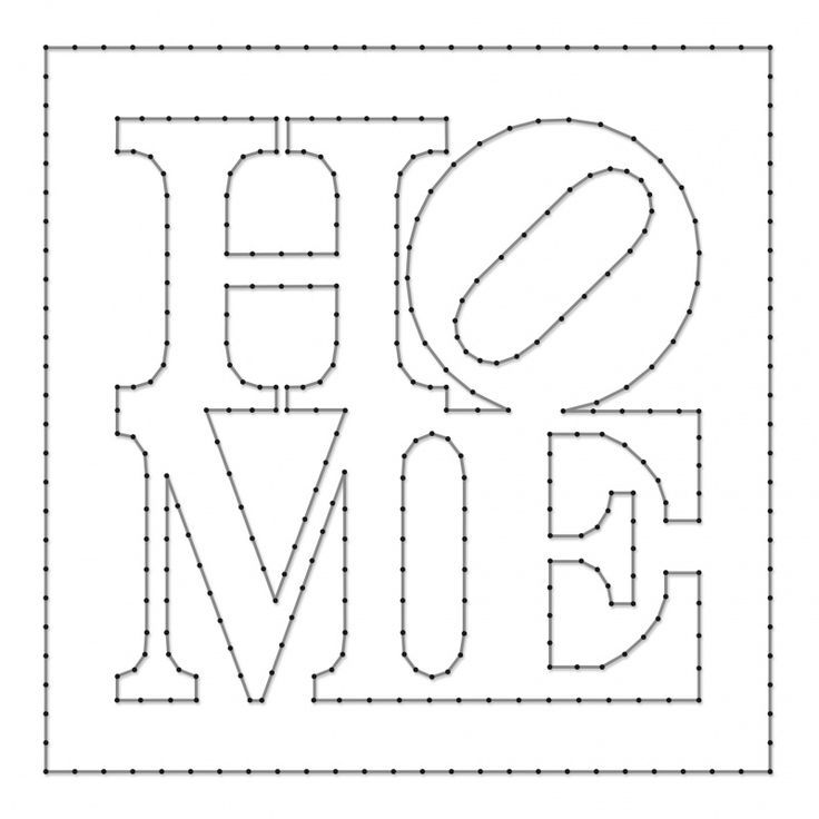 resultado de imagem para free printable string art patterns string art letters diy string art