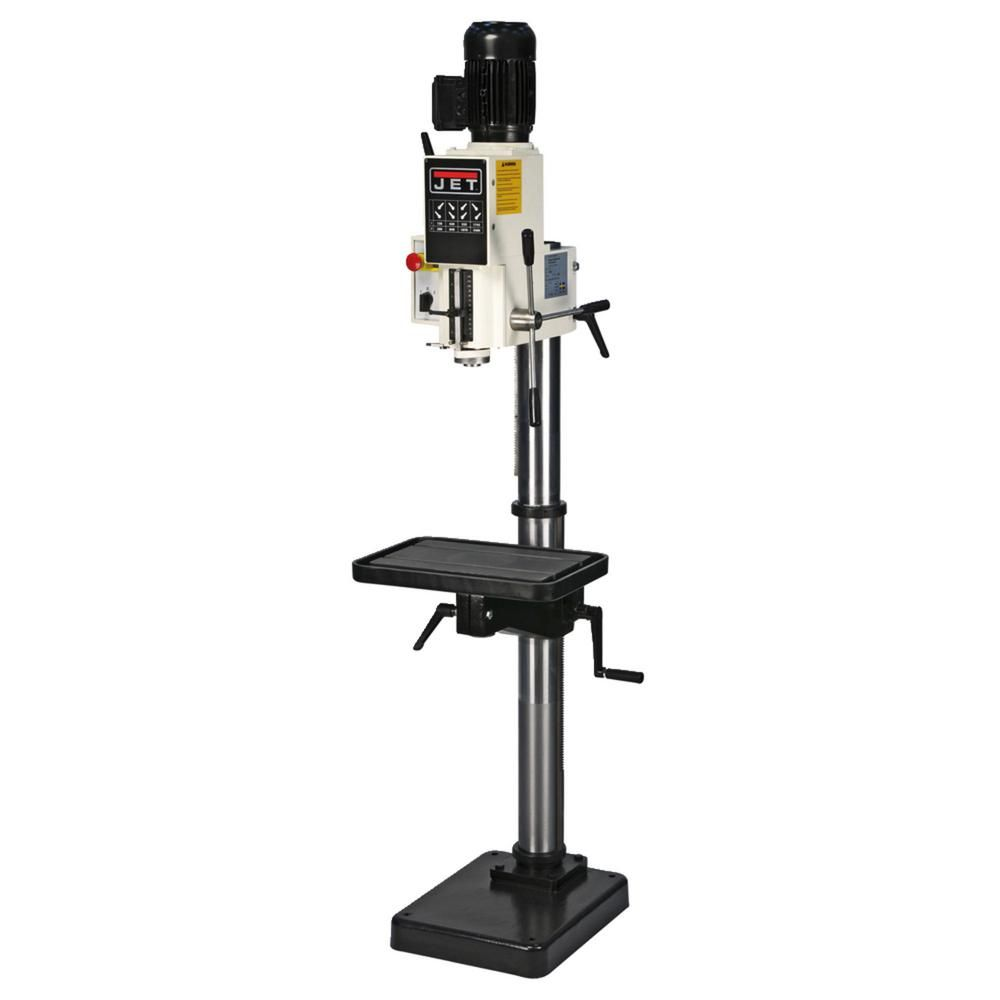 Jet J A2608 2 20 In Gear Head Drill Press 220 Volt 3 Ph 354028 In 2020 Drill Press Drill Industrial Power Tools