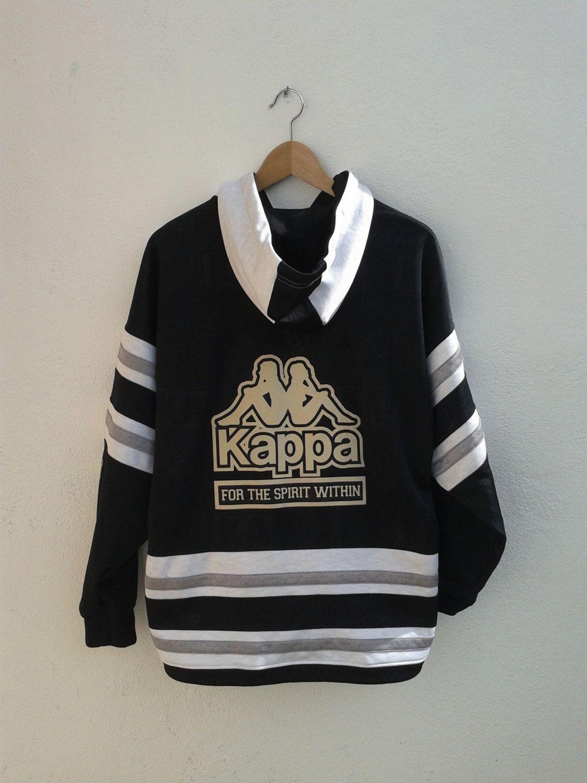 f65212ac0 KAPPA Giant Logo Sportswear Like No OTher Boy & Girl Logo Vintage 90s  Jacket Hoodies Size L by BubaGumpBudu on Etsy
