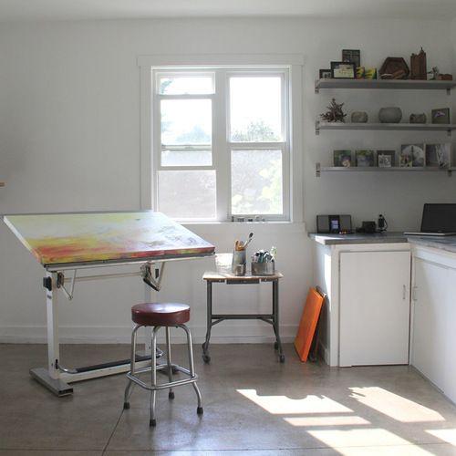 Art Studio Home Office Design Ideas, Remodels  Photos Special