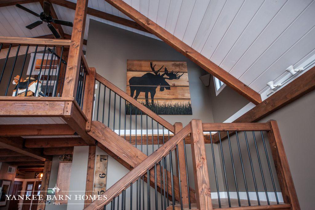 moose ridge lodge home sweet home barn house plans house rh pinterest com