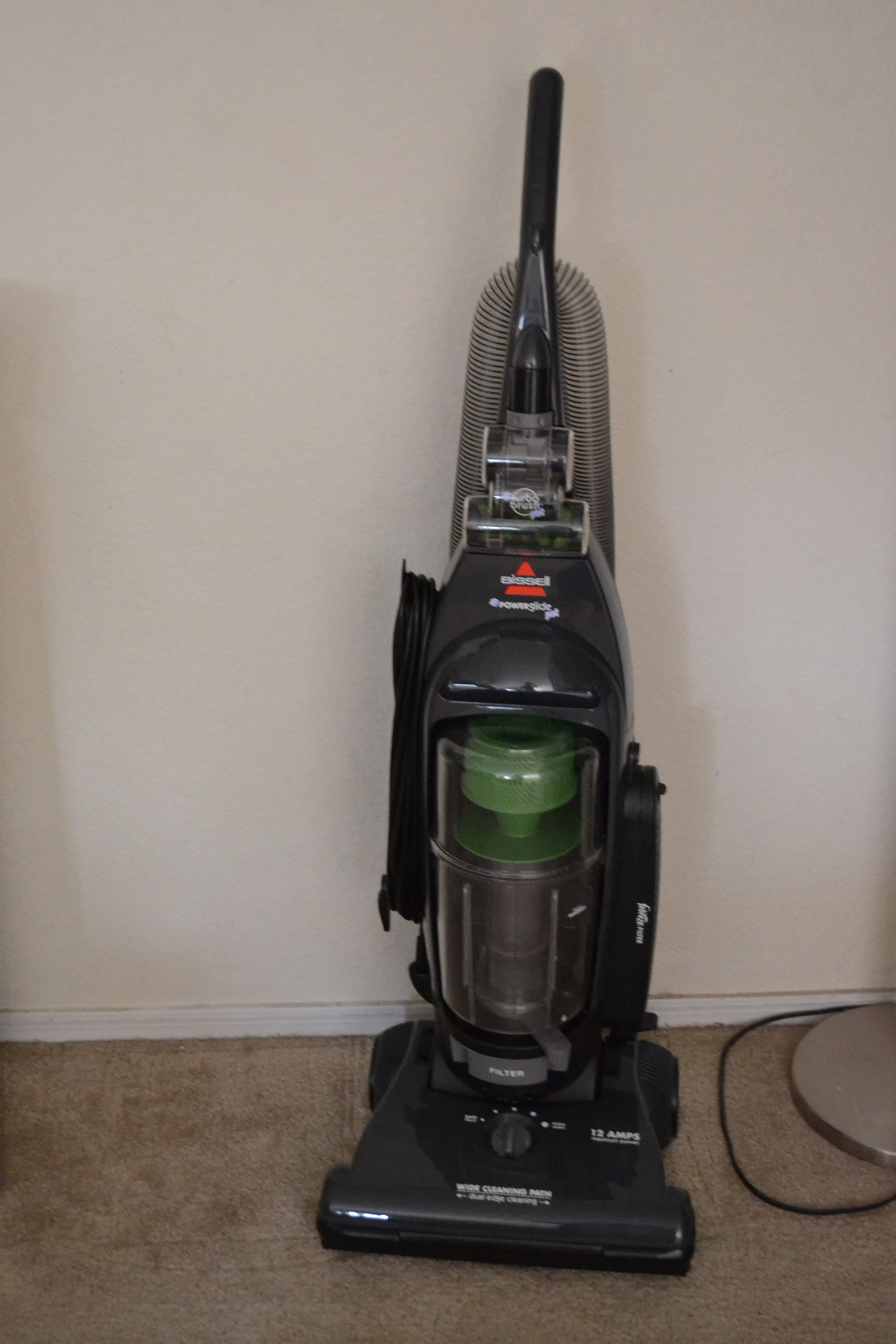 Naturally all this remodeling and we broke the vacuum had