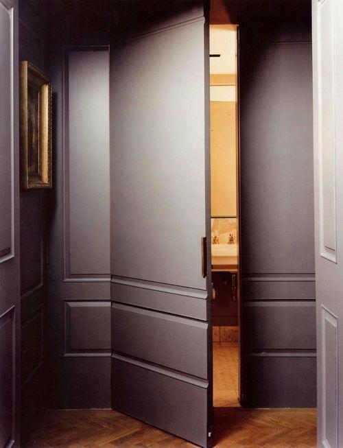 Tür Verstecken door to an en suite like