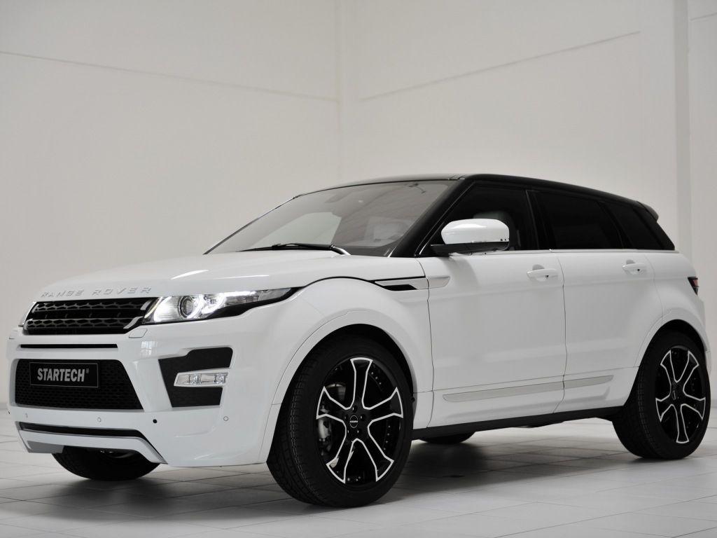 Range Rover Evoque White Black Rims Cars Pinterest