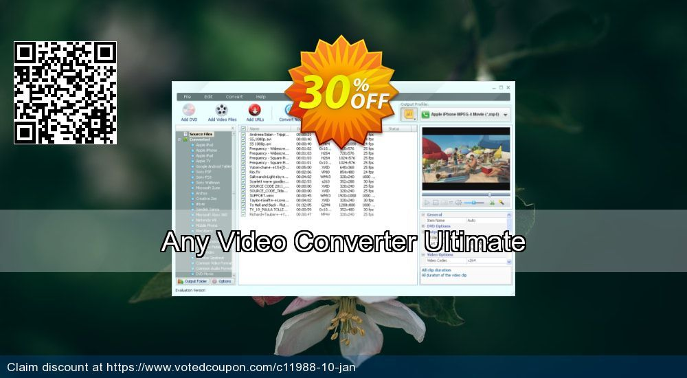 Any Video Converter Ultimate For Mac Coupon On Women Month Deals
