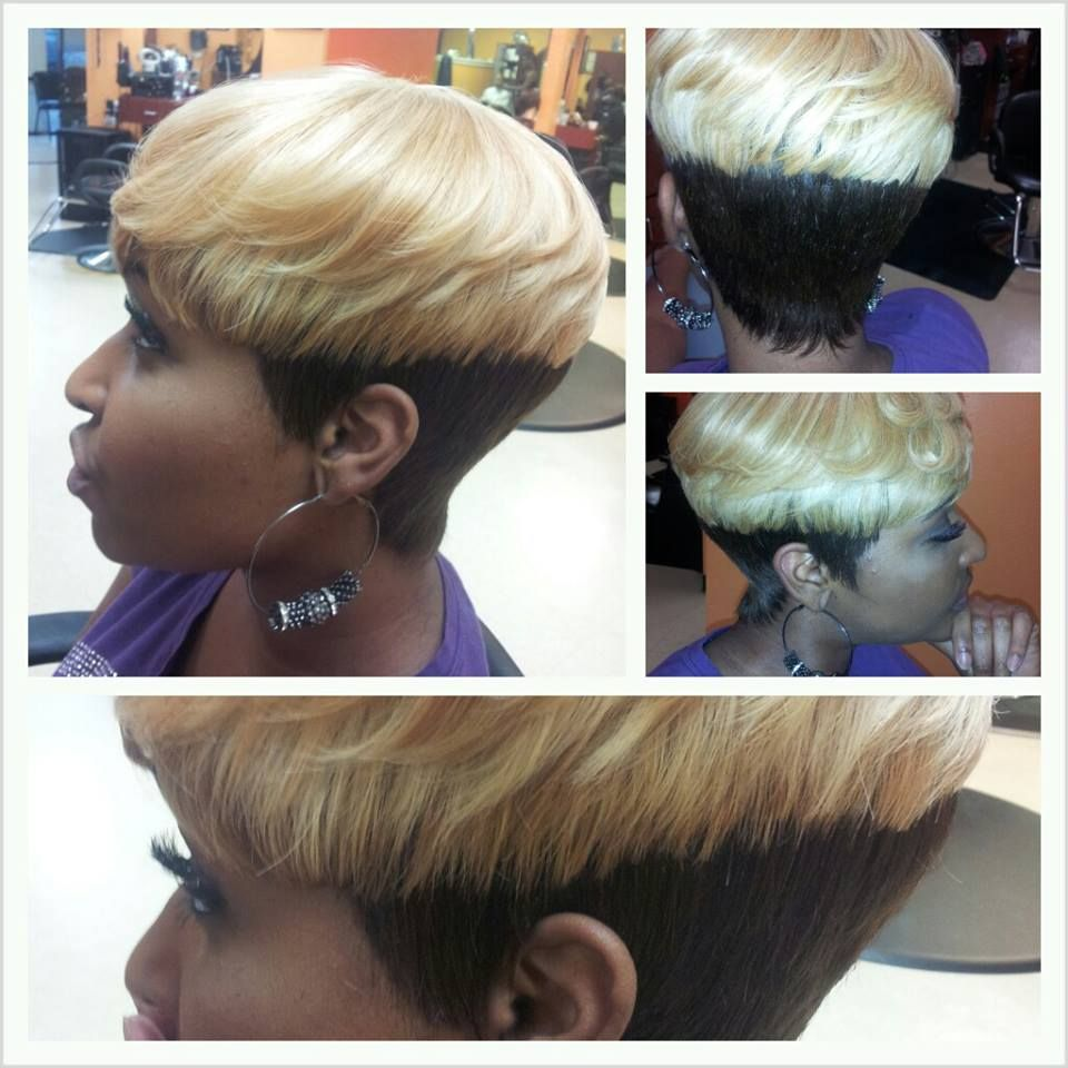cropped mushroom style quickweave | girl talk salon and spa