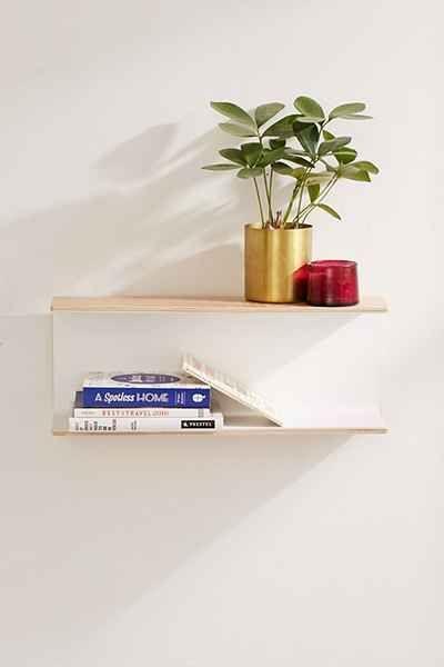Umbra Woodrow Double Shelf Avec Images Etagere Maison Entree