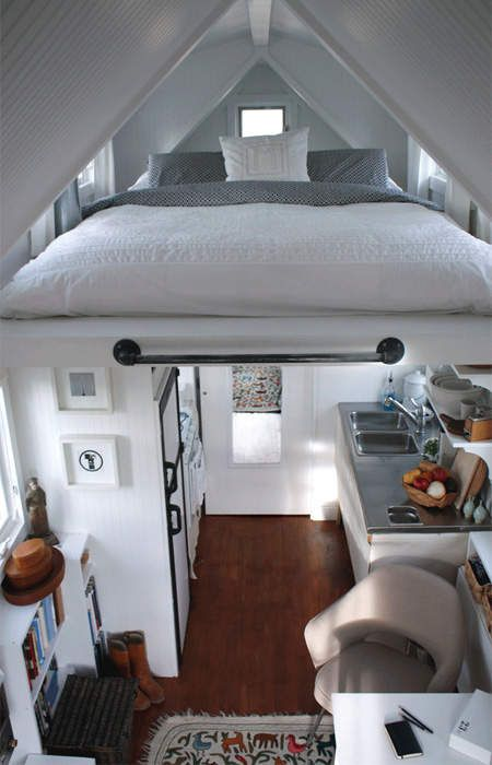 Mini Houses On Wheels how cute this tiny houses on wheels are!: inside of tiny houses on