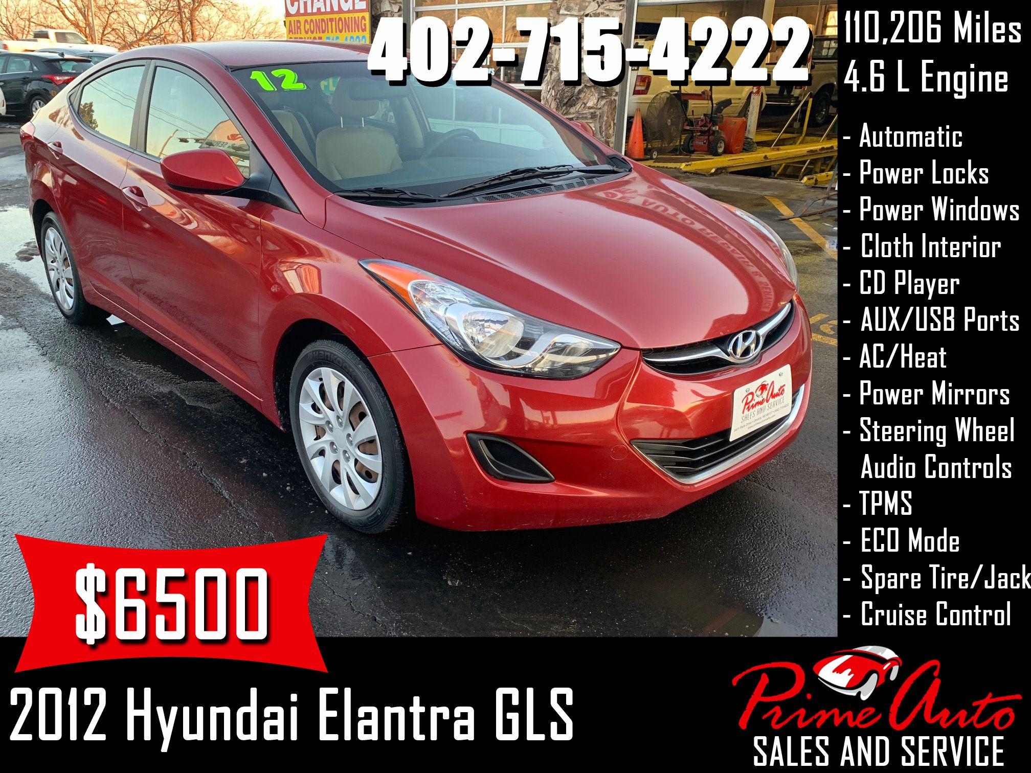 2012 Hyundai Elantra Gls Call Us Today 402 715 4222 Hyundai Elantra Gls Cars Auto Omaha Carsforsale Buyme Primea Hyundai Elantra Hyundai Elantra