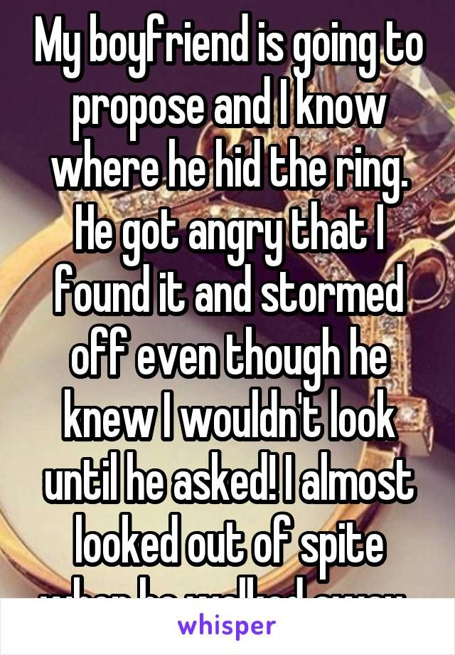 """""""I gave my fiancé money for my own engagement ring"""