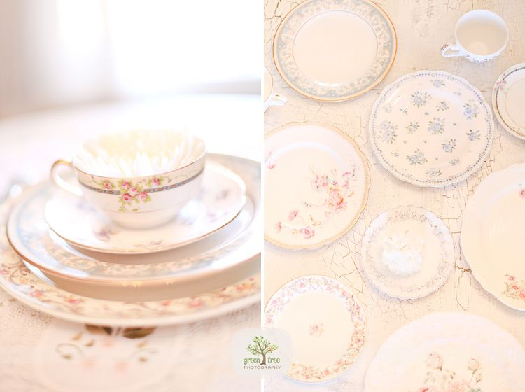 I love love LOVE this. A girl from Craigslist is selling me all of her mismatched china for my wedding!