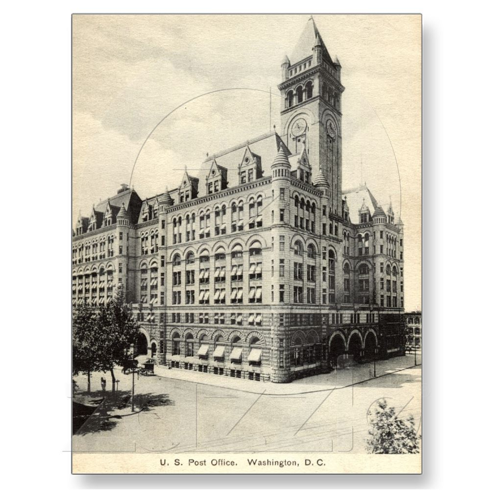 US Post Office Washington DC 1907