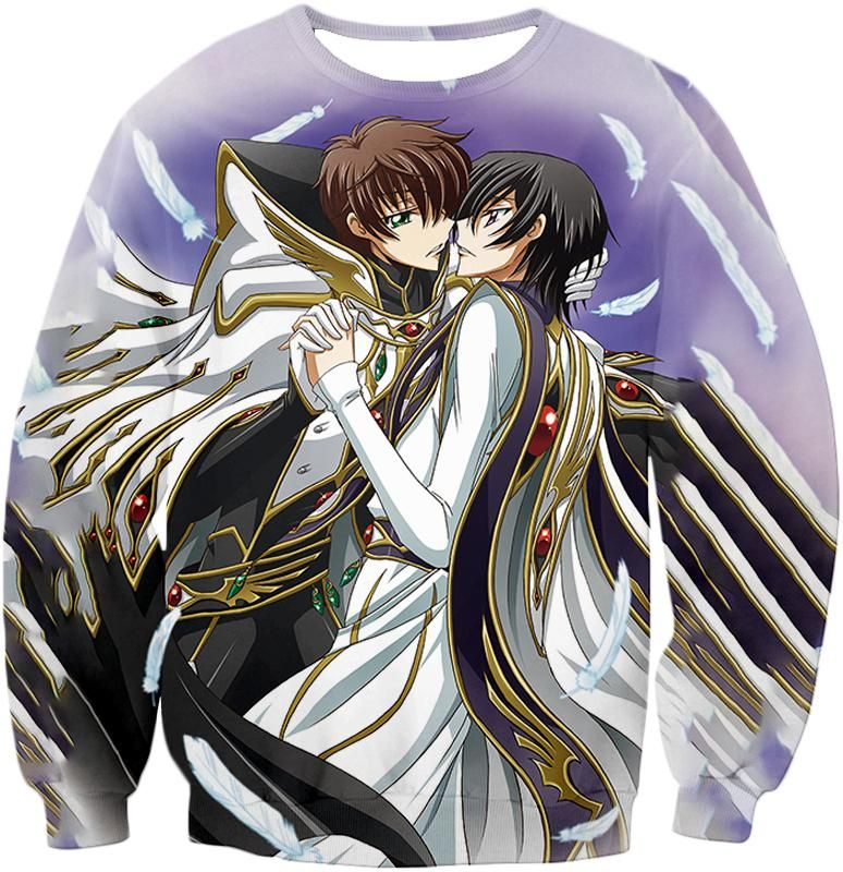 Lelouch x Suzaku the Code Geass Bromance Cool Anime