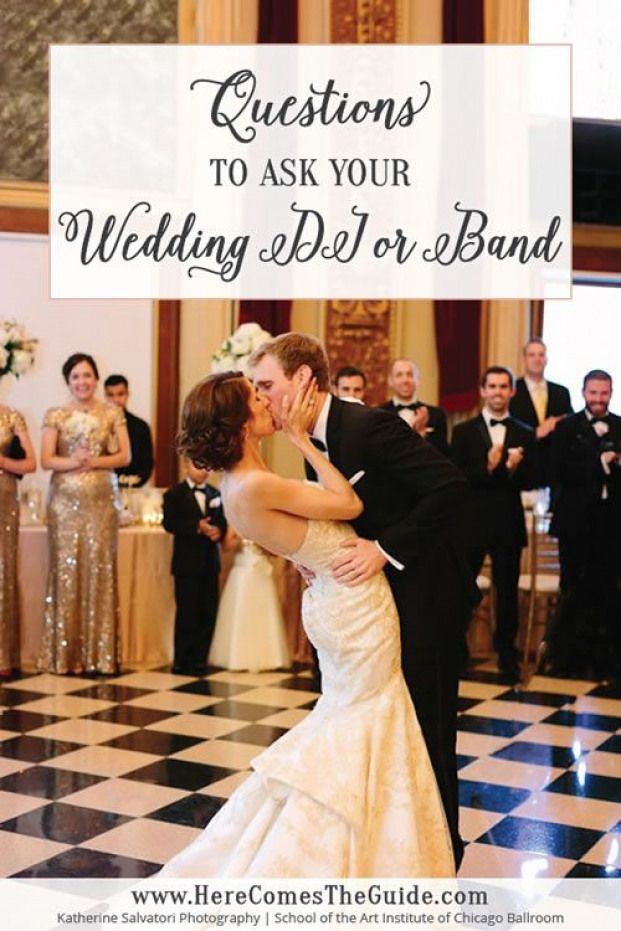 Questions to Ask About Your Wedding DJ or Band