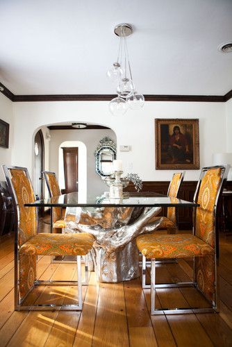 Sequoia Dining Table Z Gallerie Cluster Glass Pendant