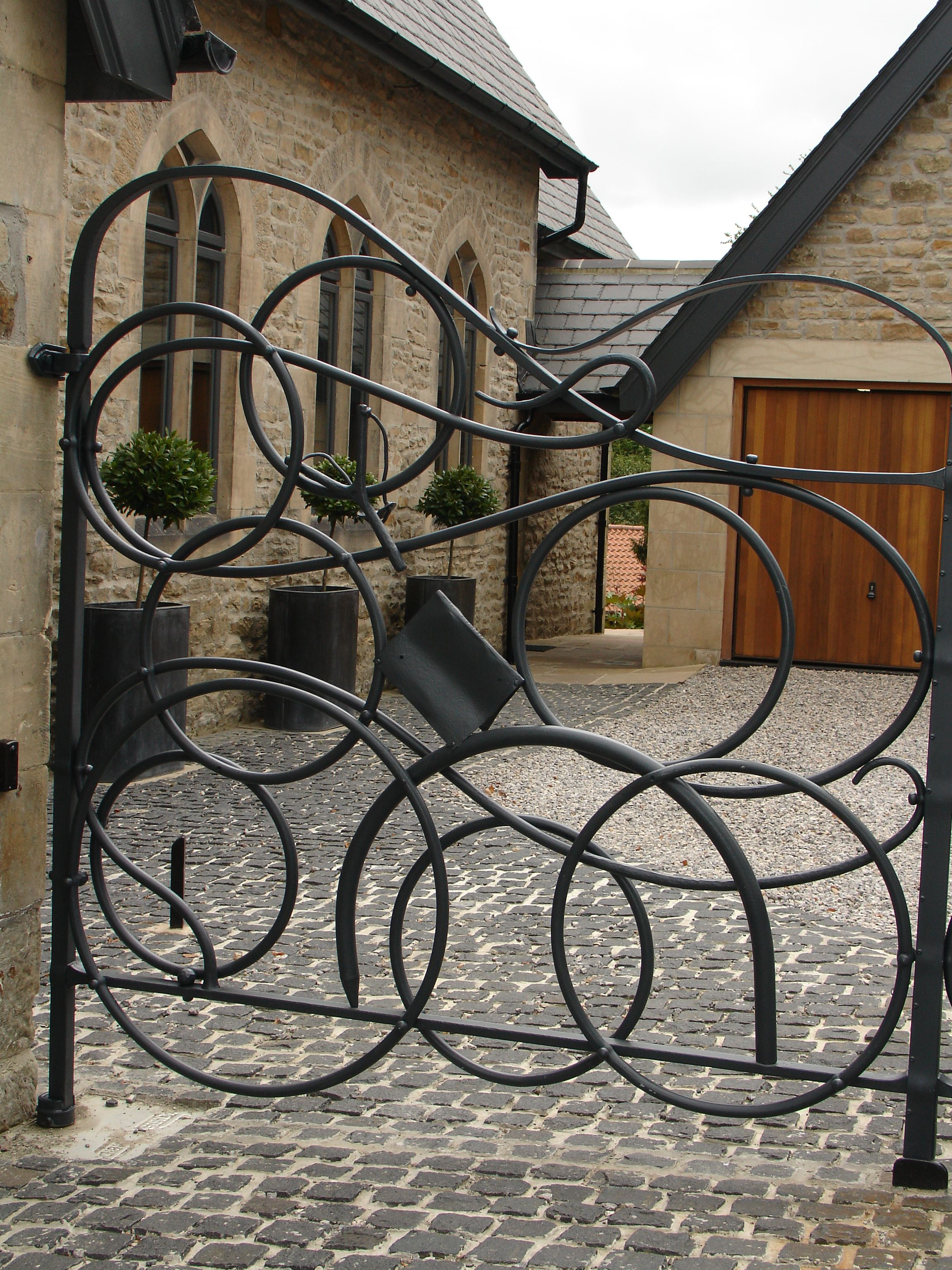 Image Result For Gates Made From Circles Beautiful Gates