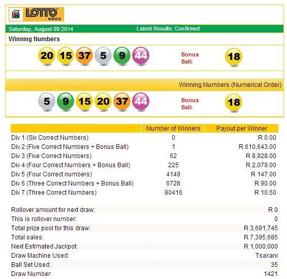Latest #SouthAfricanLottoplusResults | 09 August 2014  http://www.onlinecasinosonline.co.za/online-lottery-directory/lottery-results-south-africa.html