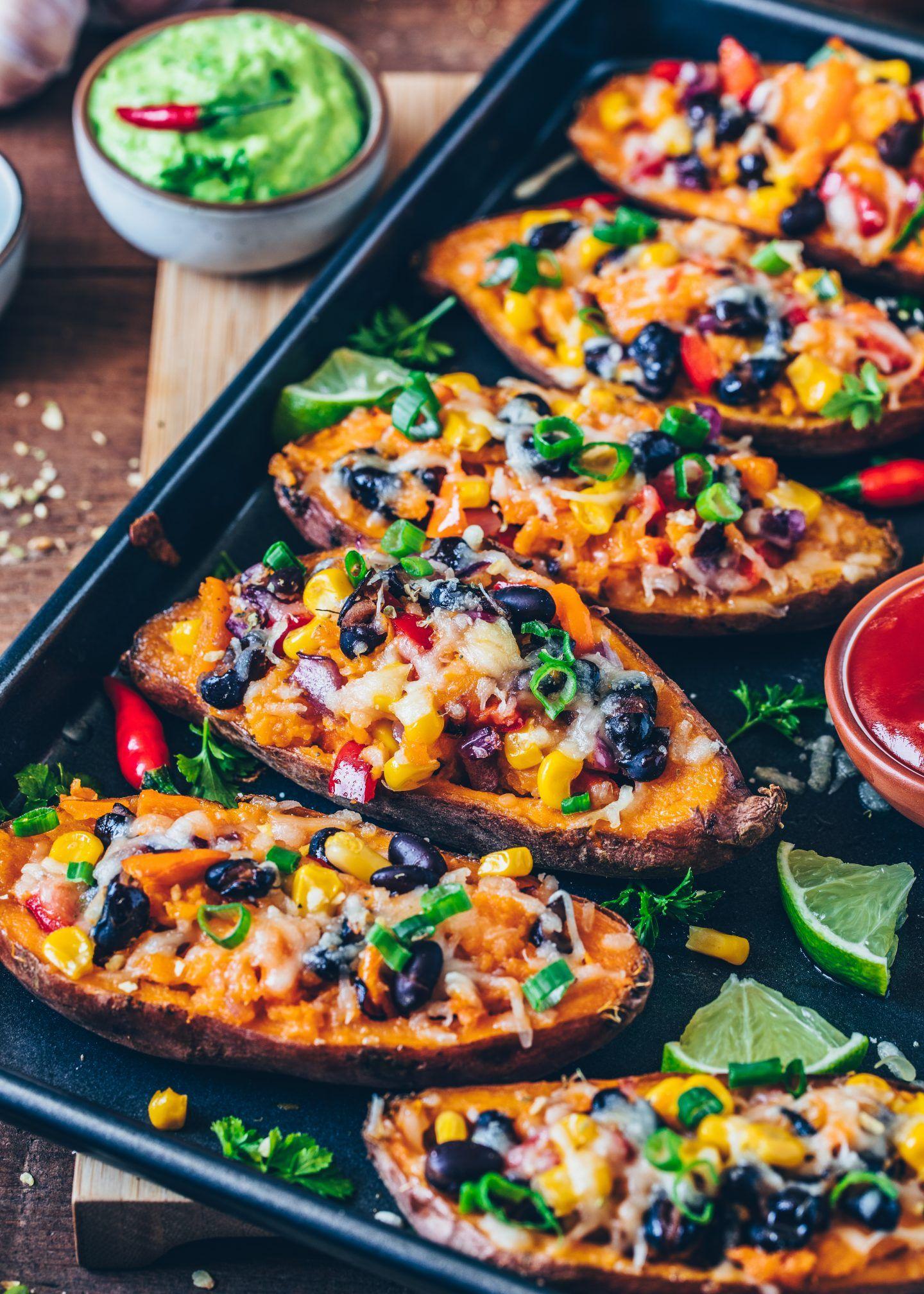 Photo of Mexikanisch gefüllte Süßkartoffeln – Vegan – Bianca Zapatka | Rezepte
