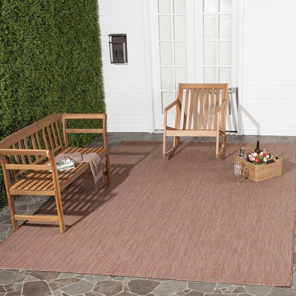 rug for living room size%0A Safavieh Indoor  Outdoor Courtyard Red  Beige Rug    u       x   u          CY             Size   u     x   u      Polypropylene  Geometric