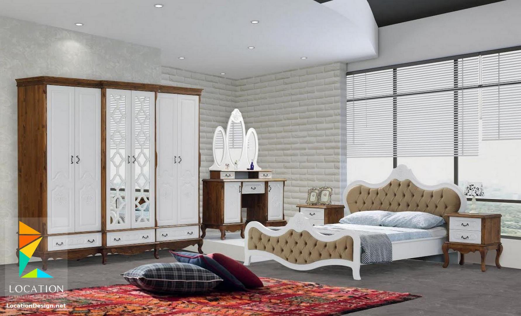 غرف نوم كامله من اجمل موديلات غرف نوم عرايس مودرن 2019 Home Furniture Room