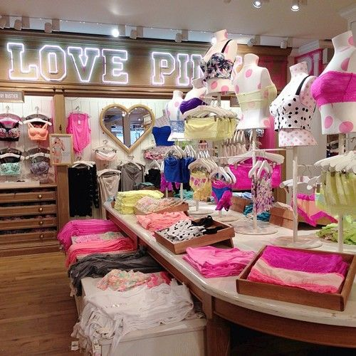 victoria s secret the one store i blow all my money in vasti s rh pinterest com