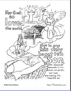 john 3 16 coloring sheet or take home paper bible coloring pages bible lessons for kids bible coloring bible coloring pages