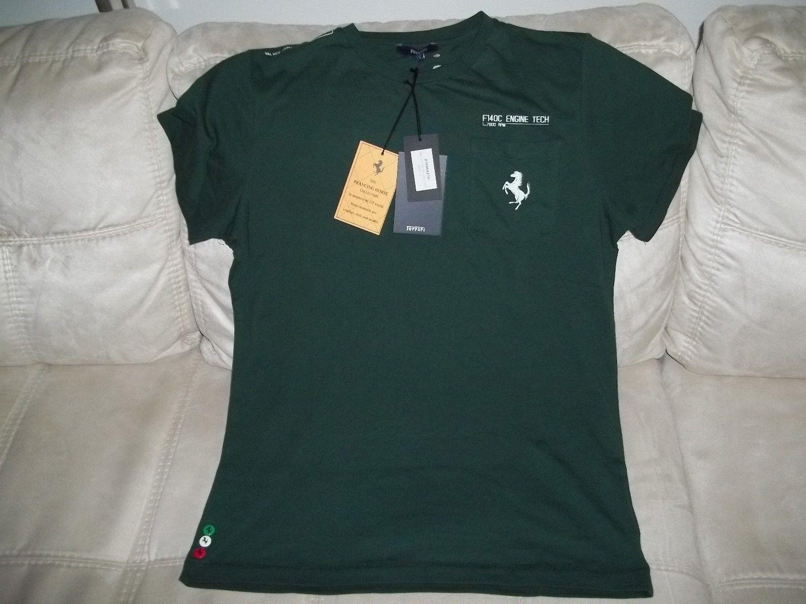 #Ferrariclubsit maglietta originale Ferrari taglia L colore verde NUOVA con etichette https://t.co/9cyFOsxNJ8 https://t.co/DxPHya7Yv7