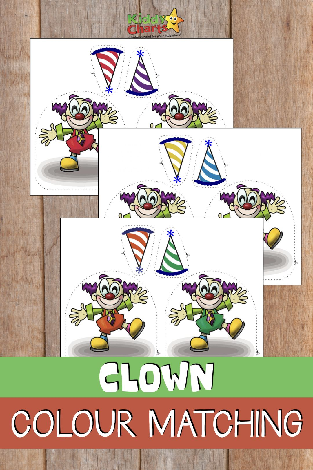 Learning Colours Clown Colour Matching Game