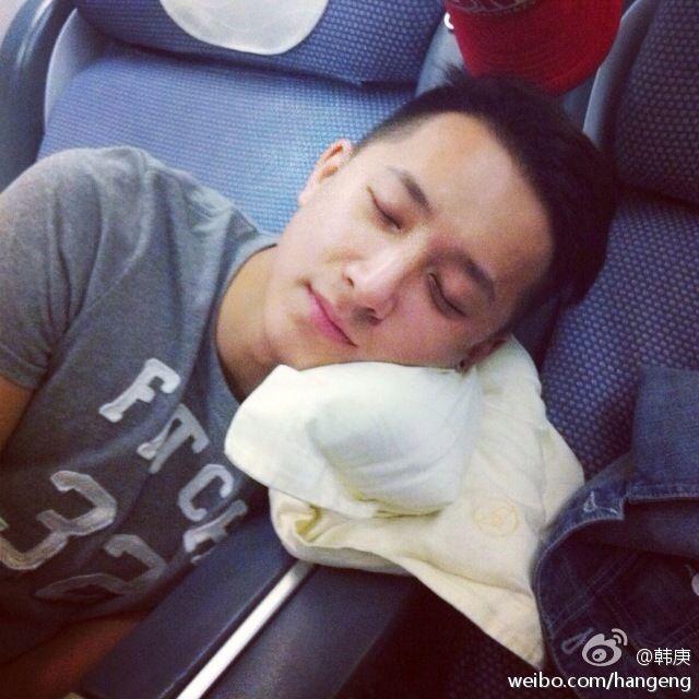 Han Geng   Weibo 140124