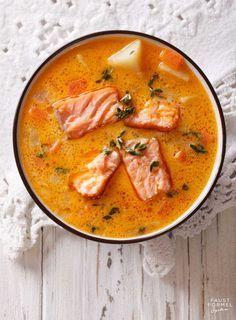 Orientalischer Fischeintopf mit Zitrone - gesundes Rezept