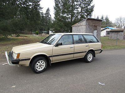 1985 Subaru 21823 ACTUAL MILES GL WAGON 4WD 1985 Subaru GL wagon 4WD 21k actual miles sel https://t.co/ZqbzBvDXxt https://t.co/sqw540jySm