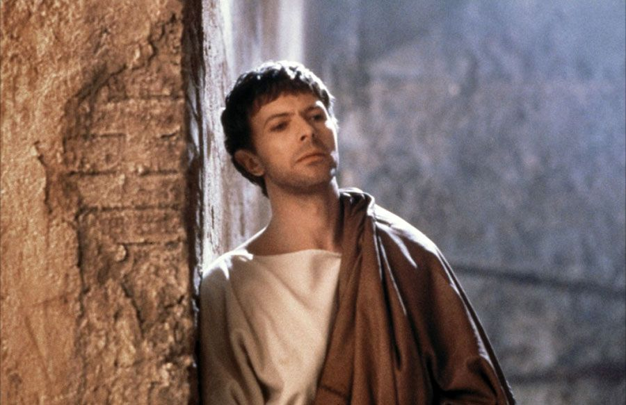 David Bowie - in the role of Pontius Pilate in The Last Temptation of Christ, directed by Martin Scorsese, released, 1988