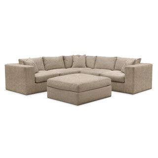 Beautiful Collin 6 Pc. Sectional  Cumulus In Dudley Burlap   Family Room   Pinterest    Living Room Seating, Power Recliners And Recliner Photo Gallery